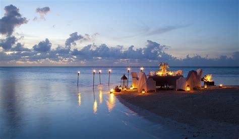 night candles dinner beach ocean romance sunset romantic