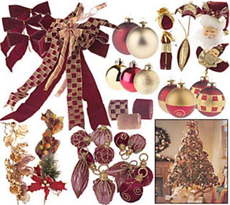 the complete 100pc christmas tree trim kit w ribbon topper