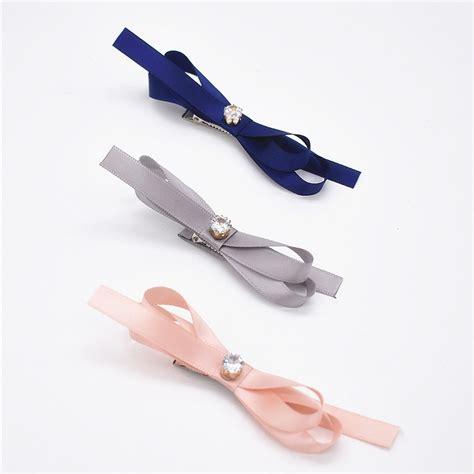 Solid Big Bow Hair Clip by Beautiful Ribbon Grosgrain Solid Big Bow Hair Hair