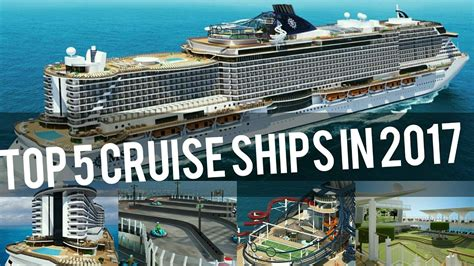 best creie top 5 best cruise ships