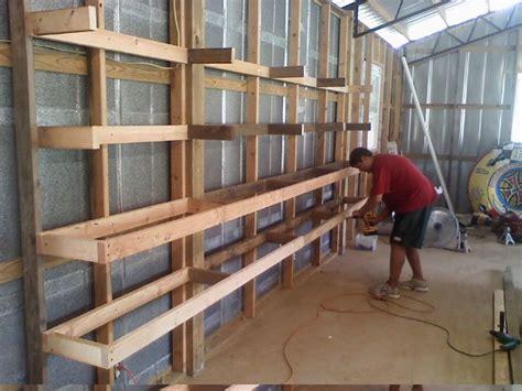 great   build shelves   garage  basement