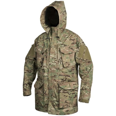 Tactical Helicon Army helikon pcs smock windproof mens hooded army jacket