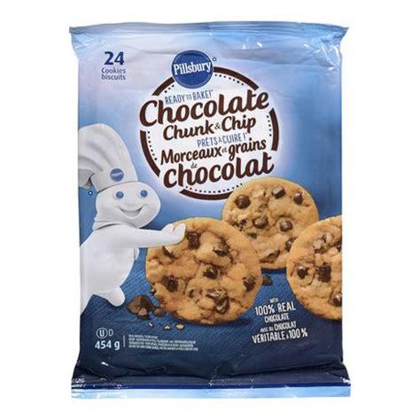 pillsbury cookies pillsbury ready to bake chocolate chunk and chip