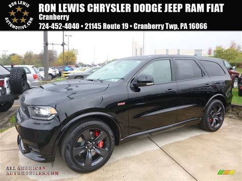 black durango srt 2018 dodge durango srt awd in db black for sale
