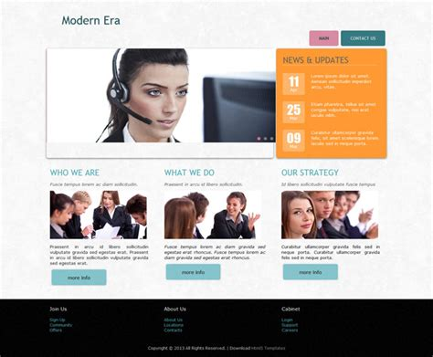 free html5 business website templates free html5 responsive business web template templates