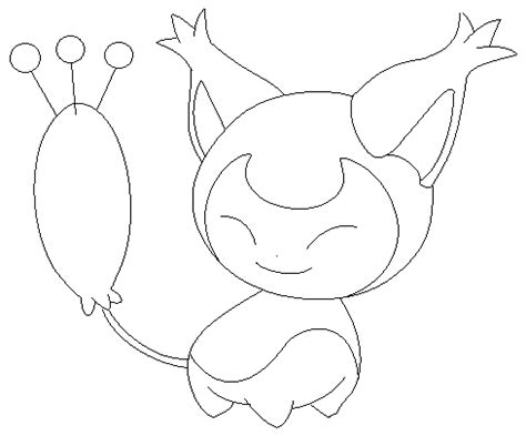 pokemon coloring pages skitty skitty lineart 2 by michy123 on deviantart coloring 4