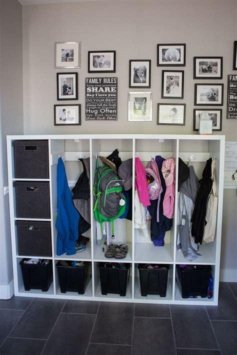 ikea entryway closet ikea hacks beautiful diy lockers for kids diy locker