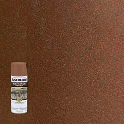 rust colored spray paint rust oleum stops rust 12 oz protective enamel rustic
