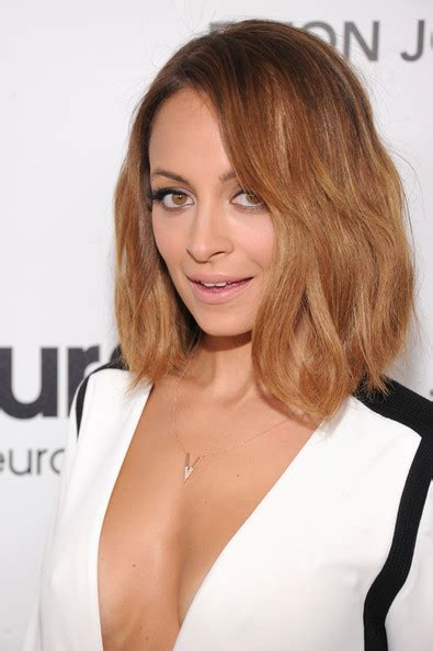 barely shoulder length hairstyles nicole richie mid length bob mid length bob lookbook