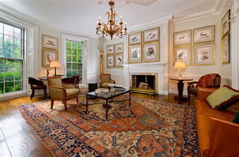 heriz rugs  great  living rooms