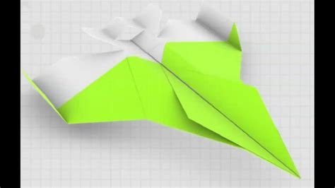 How To Make An Original Paper Airplane - how to make a paper airplane original paper plane f 16
