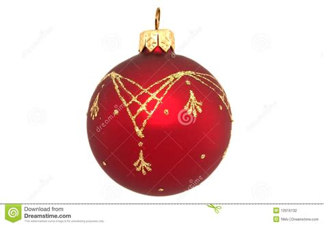 christmas tree balls christmas tree ball stock photography image 12016132