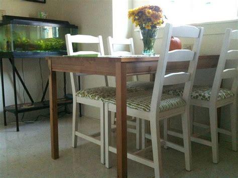 Jokkmokk Table by Jokkmokk Chairs Painted And Upholstered Nest