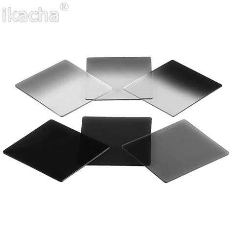 Filter P Series Nd16 Grey new graduated grey color square filter nd2 nd4 nd8 nd16 neutral density filter cokin p