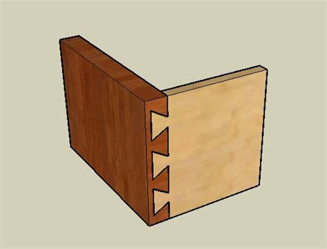 what is the strongest joint in woodworking dovetail feature help solidworks