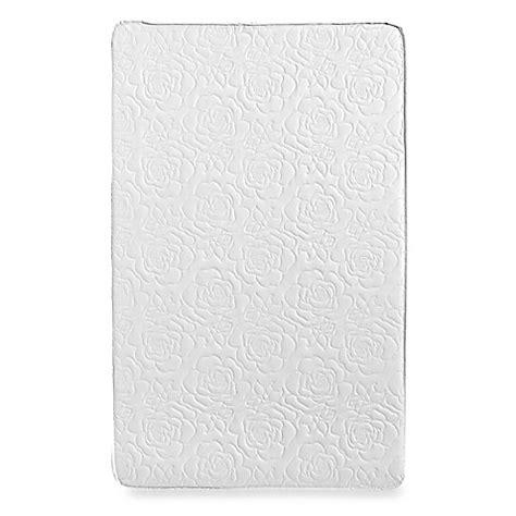 Colgate Rose Quilt Portable Crib Mattress In White Colgate Mini Crib Mattress