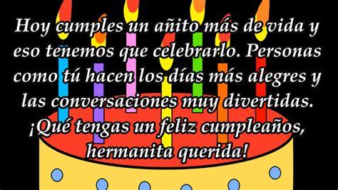 imagenes y frases bonitas de cumpleaños para una hija frases y felicitaciones de cumplea 209 os para una hermana