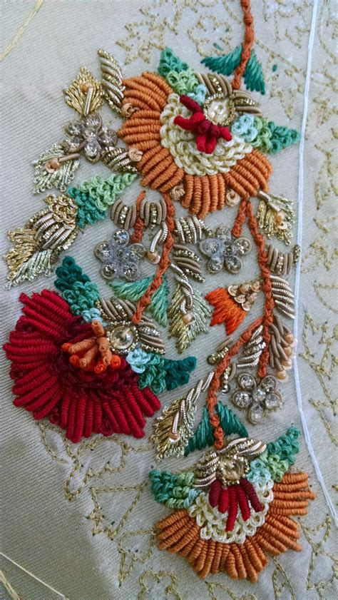 embroidery muster zardozi work zardozi it stickerei besticken muster