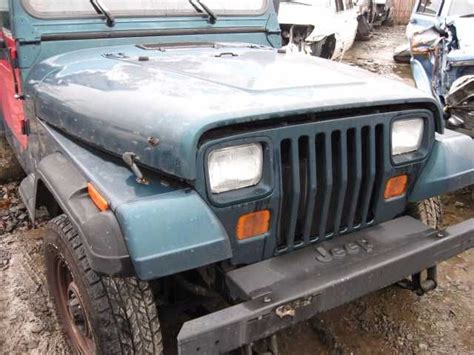1995 Jeep Wrangler Parts Used 1995 Jeep Wrangler Front Wrangler Grille Part