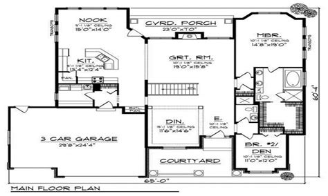 western floor plans western house plans home design