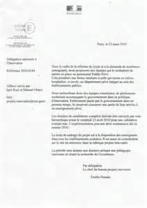 Lettre De Remerciement Officielle Sle Cover Letter Modele De Lettre Officielle