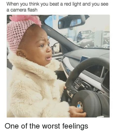 how do you beat a red light camera when you think you beat a red light and you see a camera