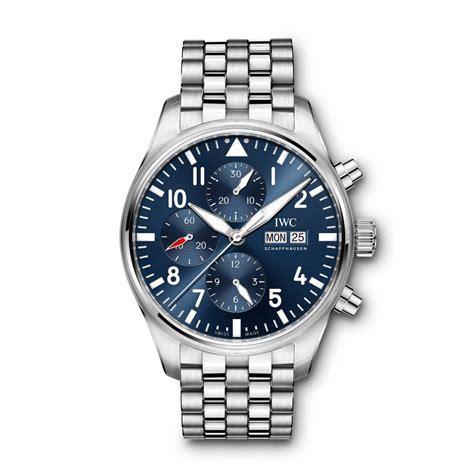 Iwc Scaffhause Blue T1310 3 iw377717 pilot s chronograph edition le petit prince