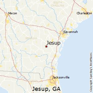 jesup map best places to live in jesup