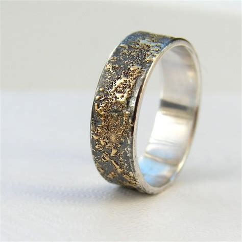 Eheringe Rustikal by Gold Chaos Rustic S Wedding Ring In 18kt Gold And