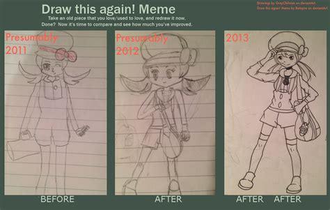 draw this again meme lyra by grayoblivion on deviantart