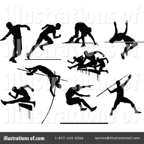 Track Events Clipart