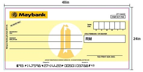 Free Mockup Cheque Facebook Instagram Template Mock Cheque Template