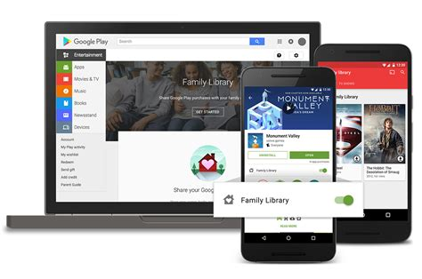 Play Store Library Official Play Family Library