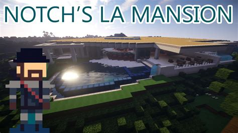 notchs house notch s mansion has been recreated in minecraft