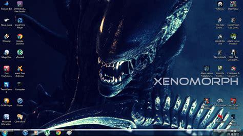 download theme xenomorph for windows 7 xenomorph windows 7 theme ii by yautjavasquez on deviantart