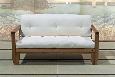 divano letto futon divano letto futon edera vivere zen