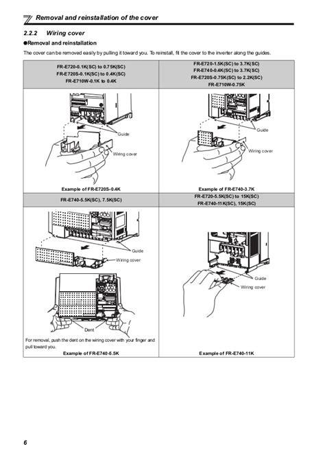 mitsubishi fr e700 catalog wiring diagrams wiring
