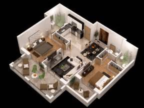 floorplan 3d detailed floor plan 3d 3d model max obj cgtrader com