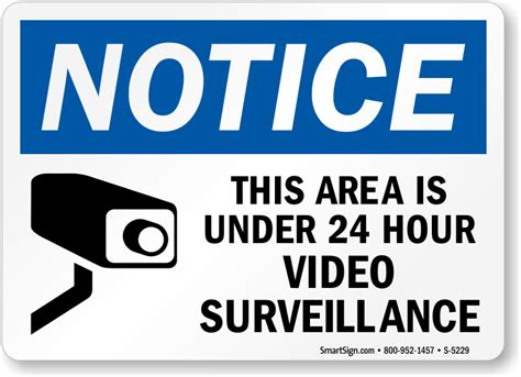 Vcr Cctv surveillance signs free shipping options