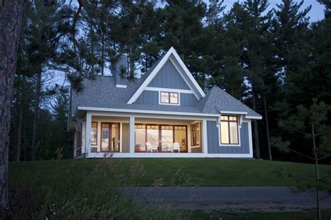 House Plans With Lots Of Glass by Tomte Stuga Transitional Exterior Minneapolis By
