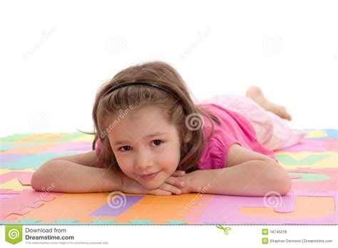 Dental Floor Plans by Smiling Child Resting On Kids Alphabet Floor Royalty