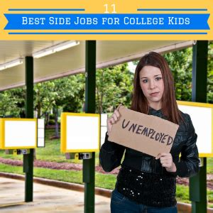 side jobs 11 best side jobs for college students
