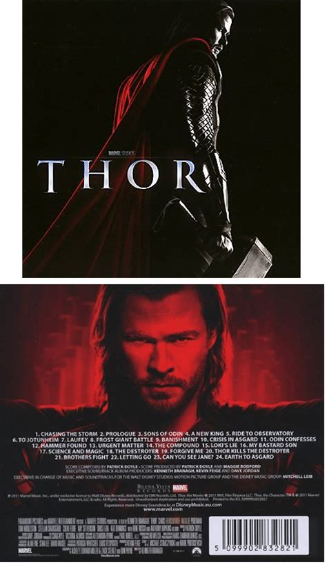 Vista Records Thor Soundtrack Details Soundtrackcollector