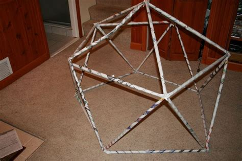 How To Make A Paper Geodesic Dome - how to build a geodesic dome geodesic dome search and