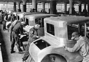 Henry Ford And The Assembly Line Henry Ford Econproph U S Economic History