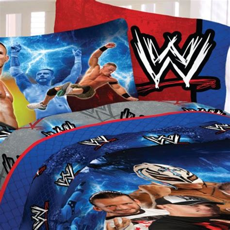 wwe wrestling chions 4pc john cena twin bedding set