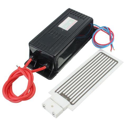Vacuum Cleaner Oxone 220vac 10g h supply ceramic plate ozone generator air purifier kit black alex nld