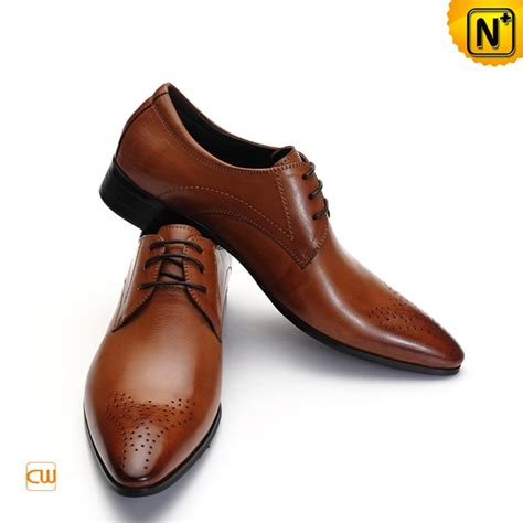 leather shoes mens italian leather oxford shoes brown cw762112