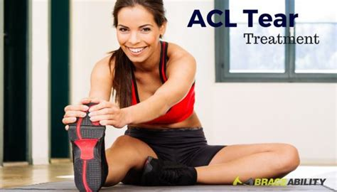 acl tear treatment  surgery torn ligament rehab exercises
