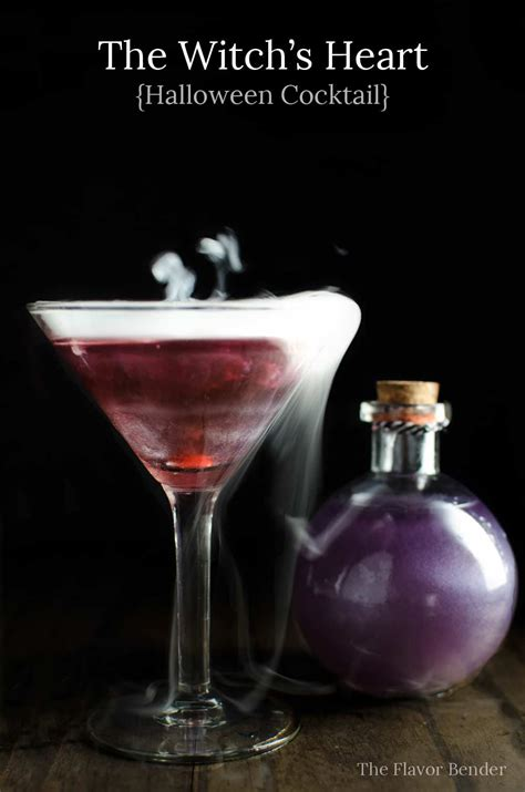 halloween drinks the witch s heart halloween cocktail the flavor bender